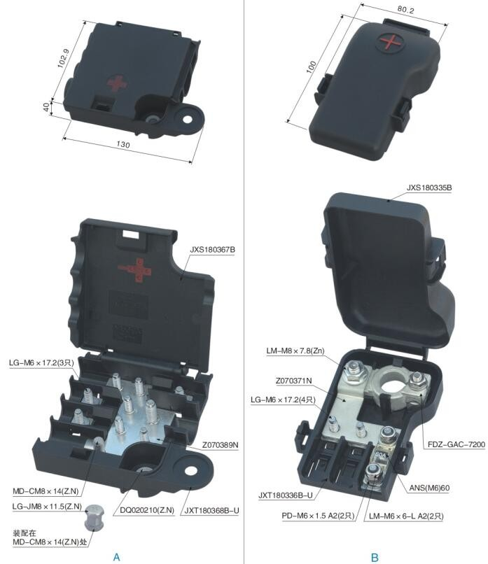 Professional Chinese Supplier Good Quality Pole Mount Fuse Box