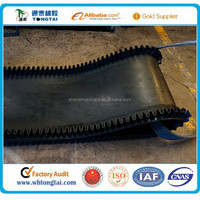 Long working life no joint cotton nylon polyester rubber endless conveyor belt