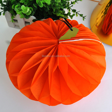Halloween decorations paper pumpkin party decorations