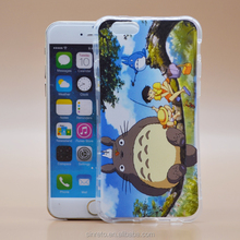 High Quality IMD Cute Totoro Phone Case For iPhone 6S Soft TPU Cover
