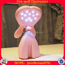 Fire-Wolf Supply Eye-Protection Lamp High Quality Stained Glass Animal Lamps Manufacturer