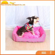 High quality cute Soft dog canvas bed
