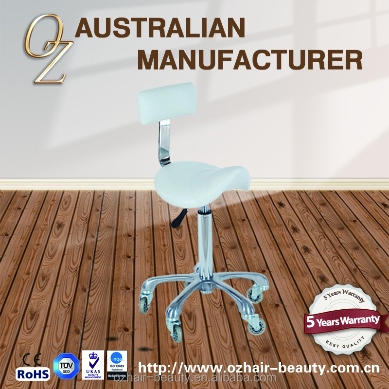 Beauty Salon Equipment Hairdressing Saddle Stool Factory Made