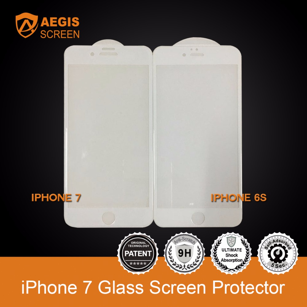 2016 Mobile Phone Screen Protector 0.2MM Tempered Glass Screen Protector for iPhone 7
