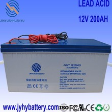 deep cycle 12v 200ah 225ah agm GEL battery,ups battery,rechargeable solar battery