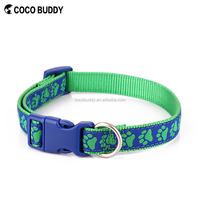 Factory price custom colored christmas dog collars PET