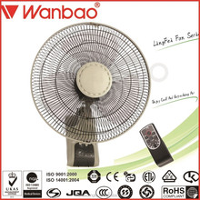 Hot- sale Home decoration wall mounted fan with great price & with remote control