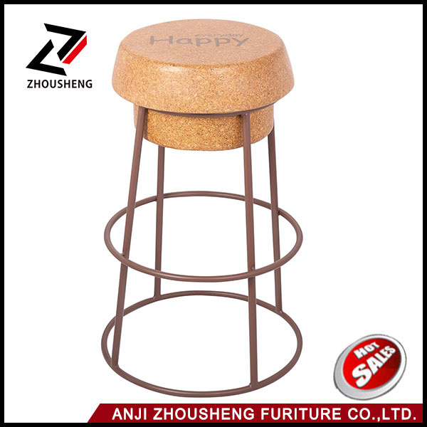 Exciting bar stool with cork top cork chair bar cork stool ZS-1099