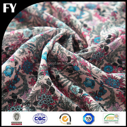 Factory custom new design high quality digital print fabric cotton for garment