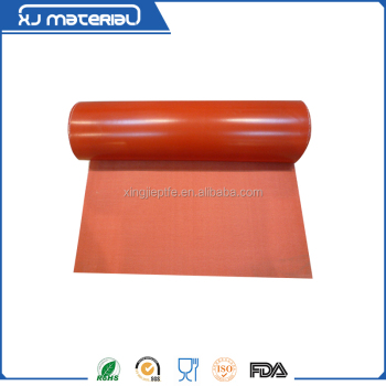 Silicone Rubber Impregnated Fiberglass cloth and fabric