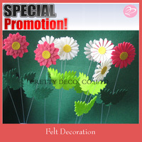 Felt Flower Plugin Garden Decoration Accessories