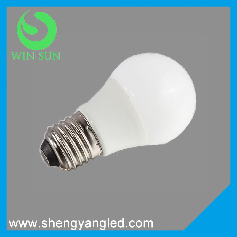 2016 new product E14 E27 AC165-265V 5W 500Lm LED energy saving light bulb