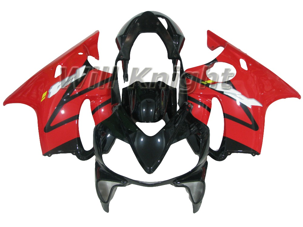 ABS Plastic Fairing Kit for HONDA CBR 600 F4i 2002005 2006 2007 Red Black