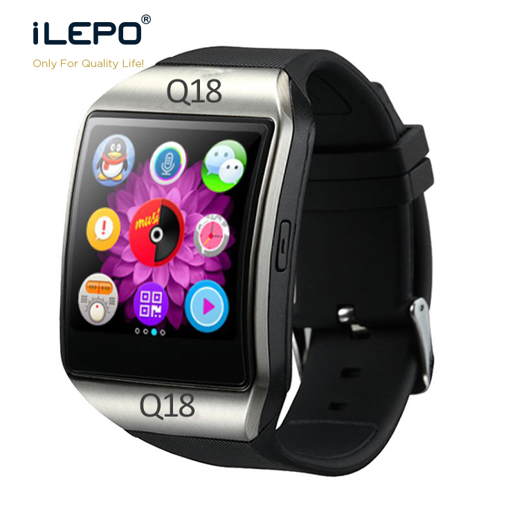 Q18 Smart Watch with camera for ios Android Fitness Tracker Phone Watch Smartwatch 2019 GT08 GV08 DZ09 <strong>A1</strong>