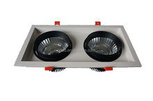 dual-head Durable aluminum led grille light 15W lighting for barber shop factory supply