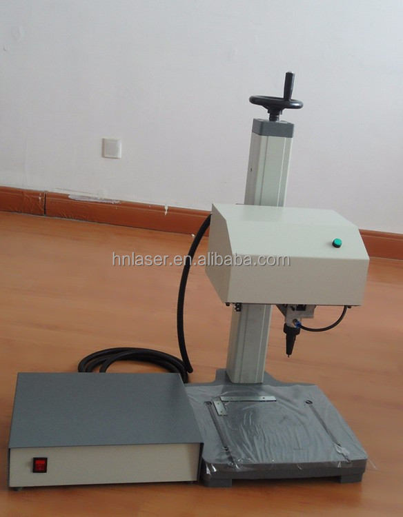 Automatic nameplate / sign / serial number / vin number / plate / stainless / portable dot peen marking machine