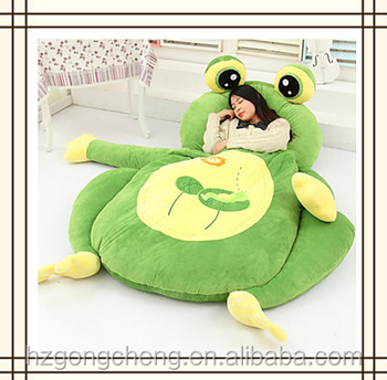 2M cheap cute cartoon monkey plush toys cabin lazy bag bed for adult,totoro bed