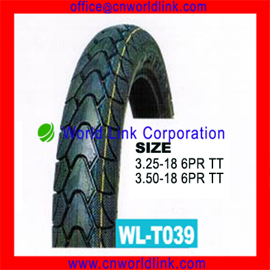 3.50-18 Rubber Wholesale Tire Motorcycle