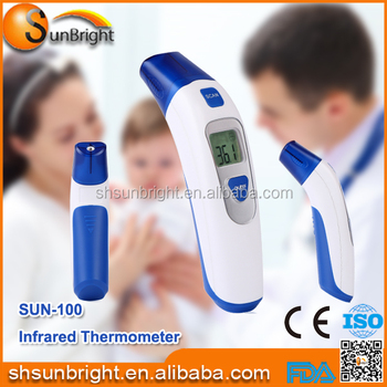 SUN-100 FDA digital non-contact infrared thermometer for sale