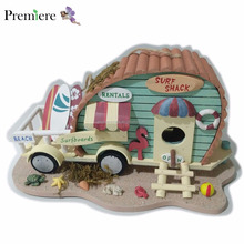 Beach Style Camper Car Design Wooden Bird House