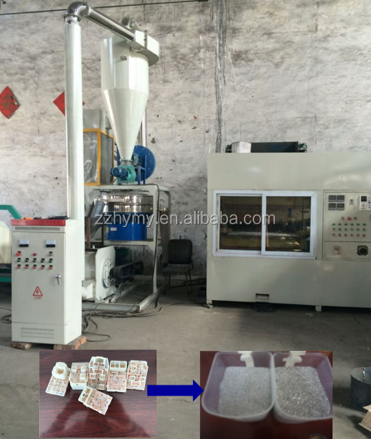 Widely used recycling machine of precious metals from CPU