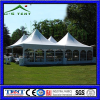 F high quality outdoor pavilion /pagoda tent at competitive cost
