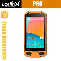 P80 Industrial PDA Android 4.4 MTK6582 Quad Core 4.5inch QHD screen with 1D 2D QR Code Barcode unlocked IP65 Rugged Handheld pda