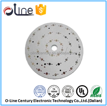 double side HDI Lead free Copy board led pcb 220v 18w