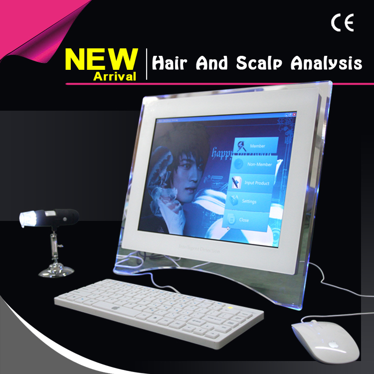 Hair And Scalp Analysis System Skin Analyzer with immunoassay system