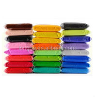 24 Colors plasticine modeling clay/polymer clay molds/polymer clay