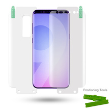 FULL BODY Smooth Full Screen Coverage 3D Gel TPU Acrylic Screen Protector for iPhone Samsung