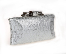 Hot selling products bow clutch purse Clutches and Evening Bags for Women Bow