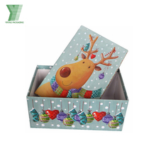 New hat bottom gift box wedding gift packaging christmas favors box