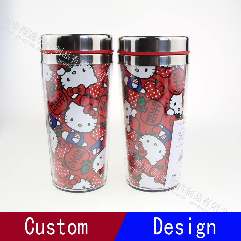 New Products Double Wall Hello Kitty Tumbler Stainless Steel