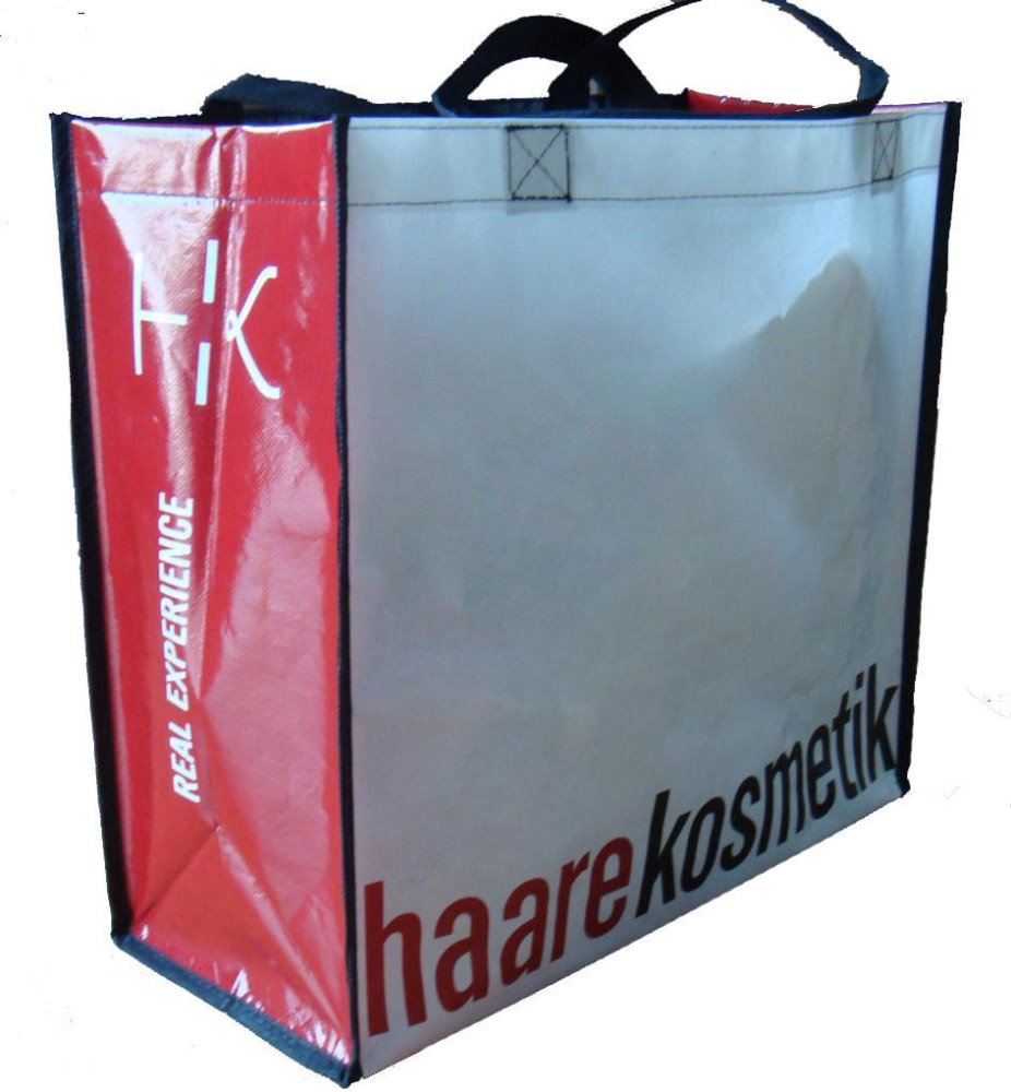 heavy dety metro shopper bag, lamination non woven bag