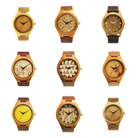 2017 Vogue japanese quartz movement waterproof oem wholesale bewell bobo bird wood watch bamboo leather band with your logo