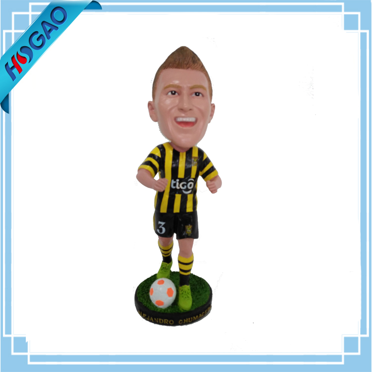 Personal Custom Bobbleheads with Soccer Player Figures
