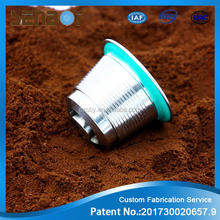 High quality refillable stainless steel nestle coffee capsule