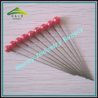 Fashion decorative hair with pearl head stick pins