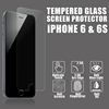 Wholesale cell phone accessories 9h anti scratch tempered glass screen protector for iPhone 6s plus screen protector