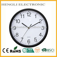 11.5 inch home decoration plastic home goods wall clock