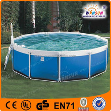 Frame swim pool cover,outdoor swim pool pvc from china
