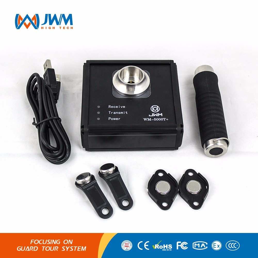 JWM WM-5000E Touch i button stable security IP67 guard tour patrol control wand/baton