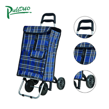 Wholesale Latest Design Superior Quality Grocery Germany Folding Shopping Trolley Cart