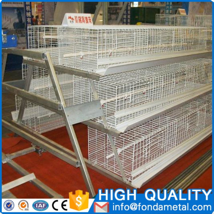 Poultry farm used laying hen chicken egg layer cages