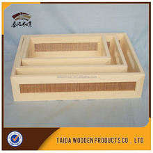 Hot New Products For 2015 Decorative Wooden Coin Tray