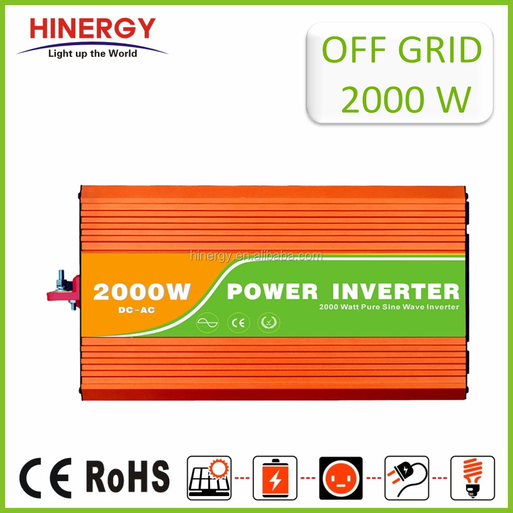 Alibaba China Inverter Off Grid Inverter 2000w Inverter Battery Charger 2000 Watts Transformer Dc To Ac