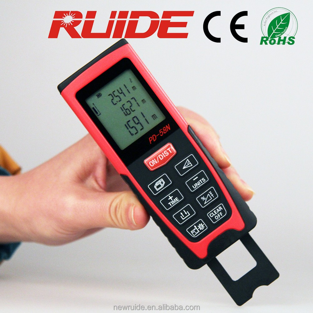 laser distance measuring meter orecision 1.5mm drop resistence