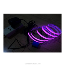 EL tape Flexible Neon Rope Light Glow EL Wire Cable waterproof led strip light 3V Ribbon Decor Party