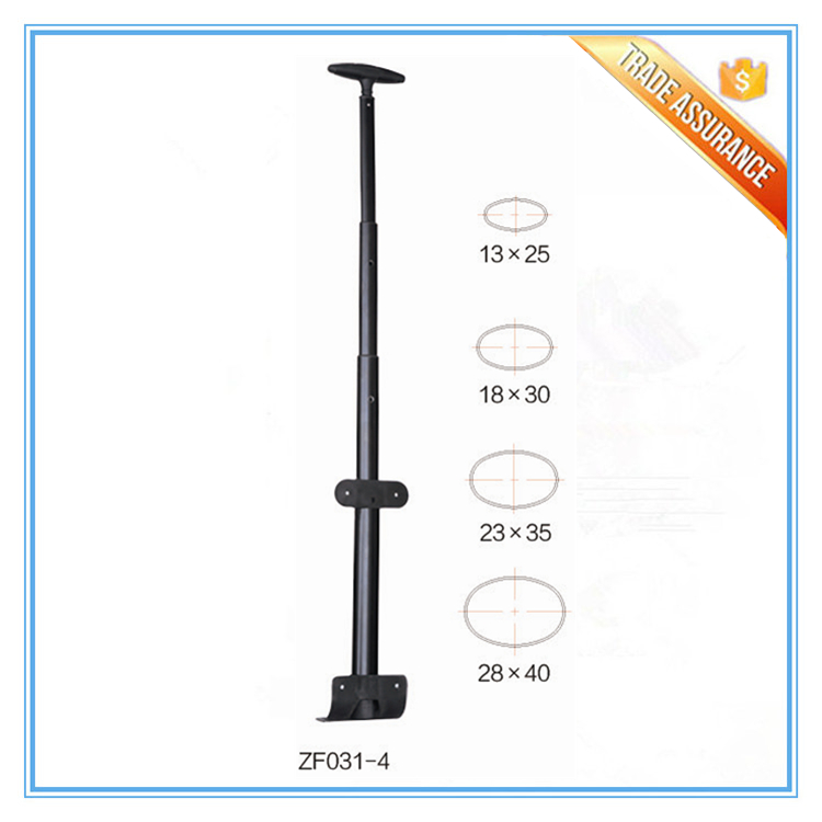 Cheap Single Telescopic Luggage Trolley Handle Parts